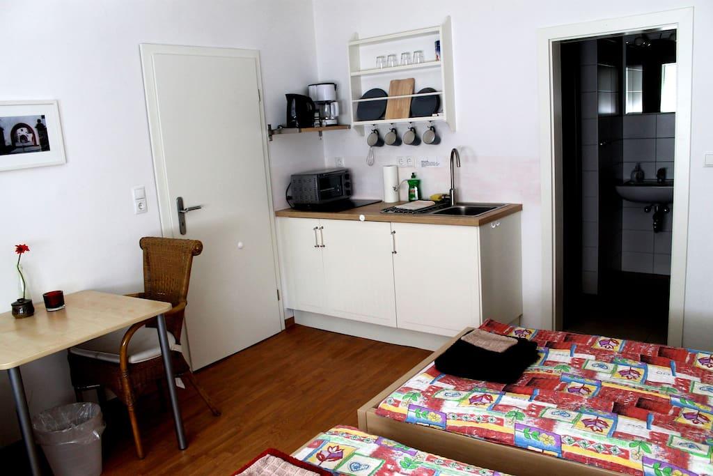 neue kleine wohnung in der altstadt wohnungen zur miete in karlstadt am main bayern deutschland. Black Bedroom Furniture Sets. Home Design Ideas