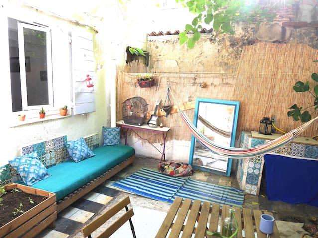 cosy avec terrasse au centre de Marseille