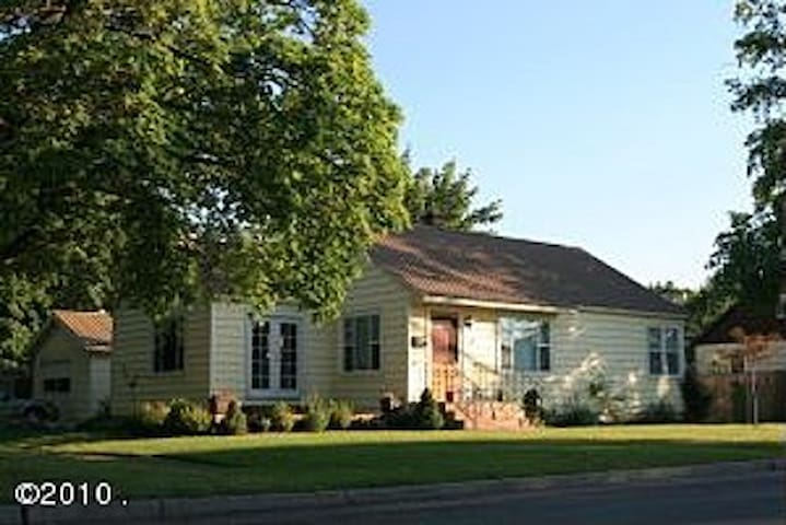 Charming home downtown Kalispell - Kalispell - Rumah