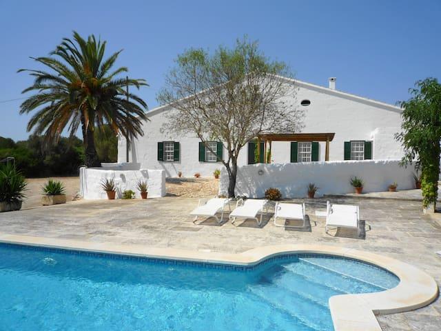 Farmhouse Gabi Vell, Menorca - Binibeca - Villa