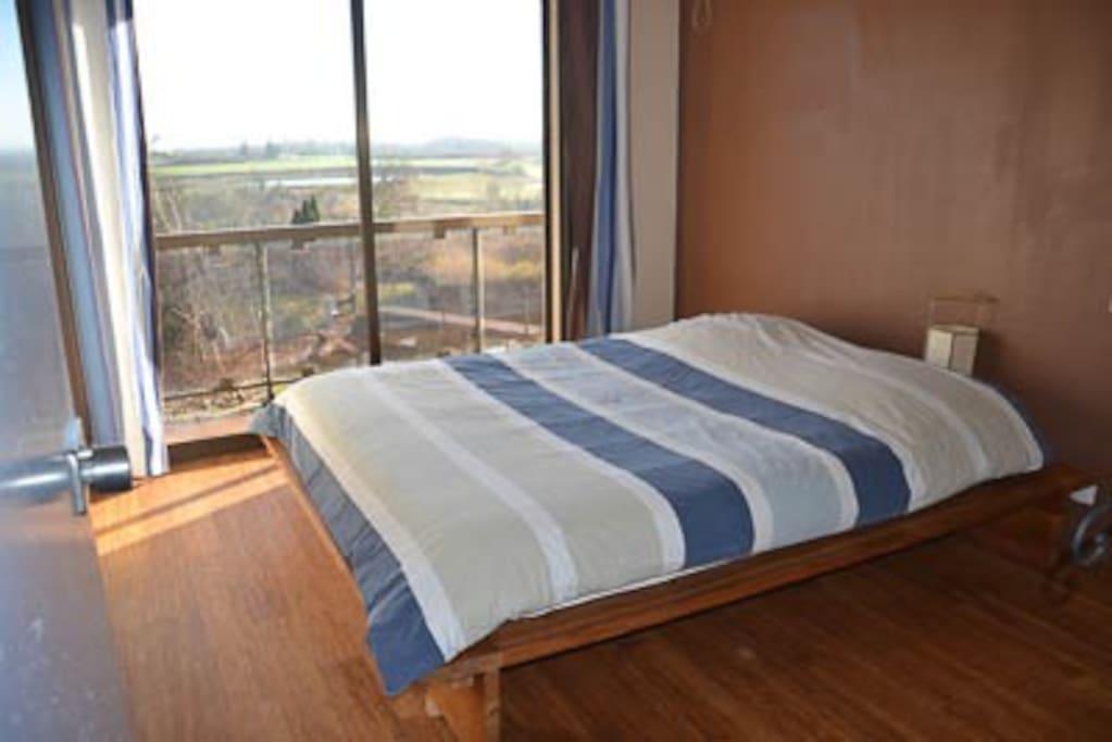 Chambre avec petite terrasse