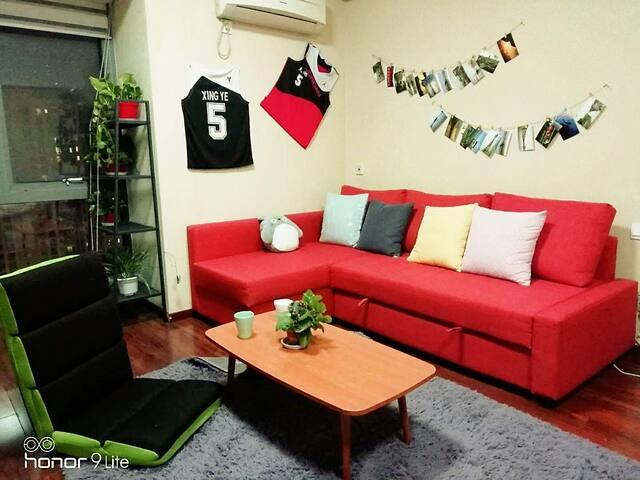 无锡壹玖玖零—岩舍 滨湖万达商圈 地铁口单身公寓 生活设施齐全