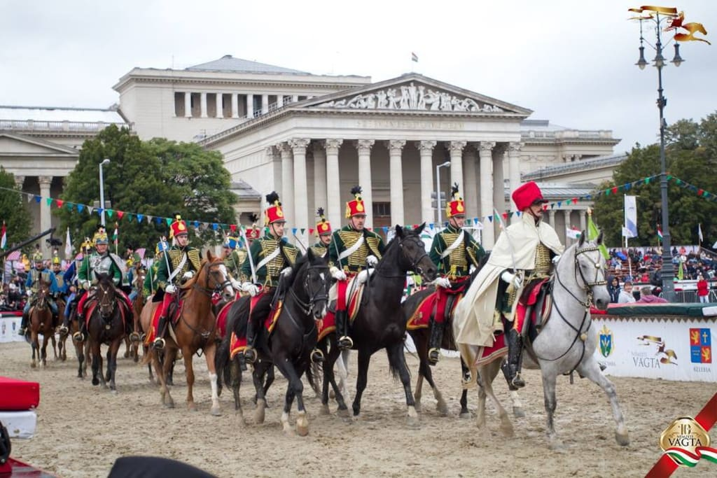 The big National horse race every September at Hero's squere! 1 minute walk away from the villa.