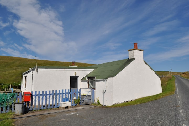 North Town: croft house by the sea