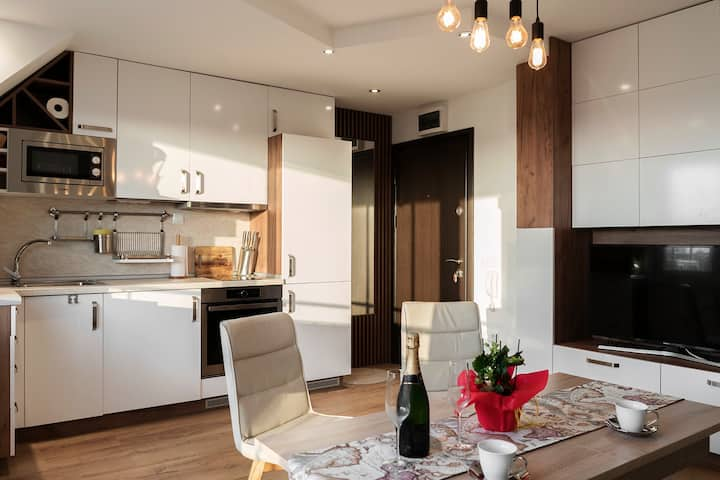 Charming Apartment with amazing view, South Park
