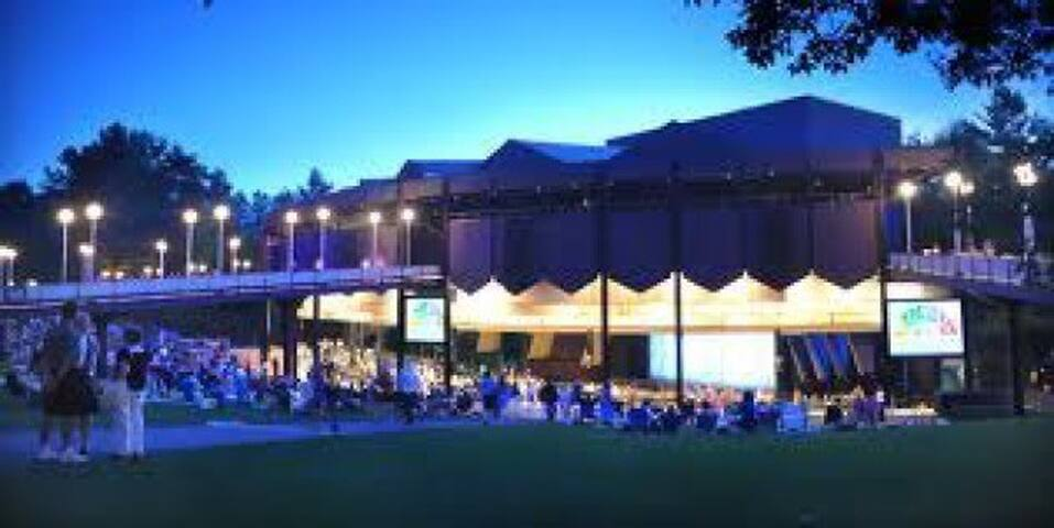 Saratoga Performing Arts Cent (SPAC) pop and classical concerts all summer