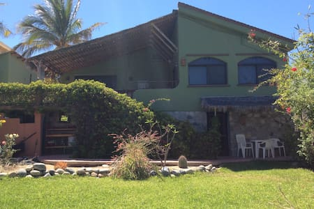 Cool & Quiet Sea View Home In Town - Los Barriles - Casa