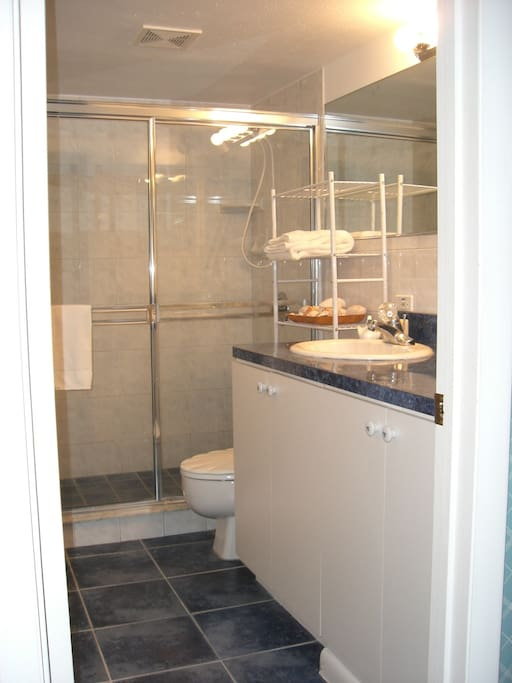 Bathroom  with very large shower