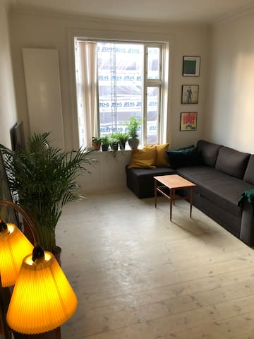 Small hygge apt, 3rd fl. for singles or couples