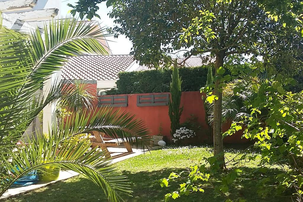 Jardin et Terrasse Sud ouest