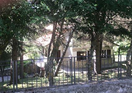 Villa Ortensia - zona panoramica del castello di Montecopiolo immersa nel verde