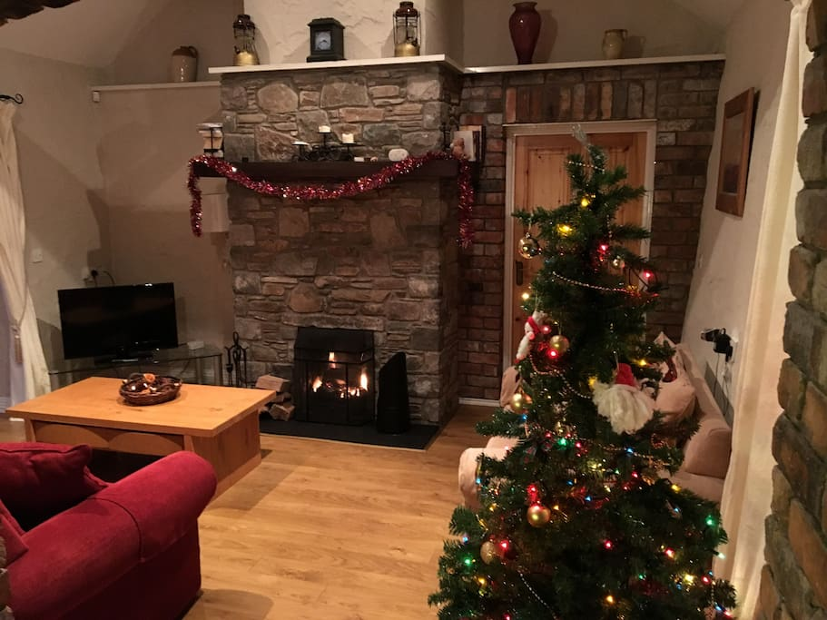 Cottage at Christmas