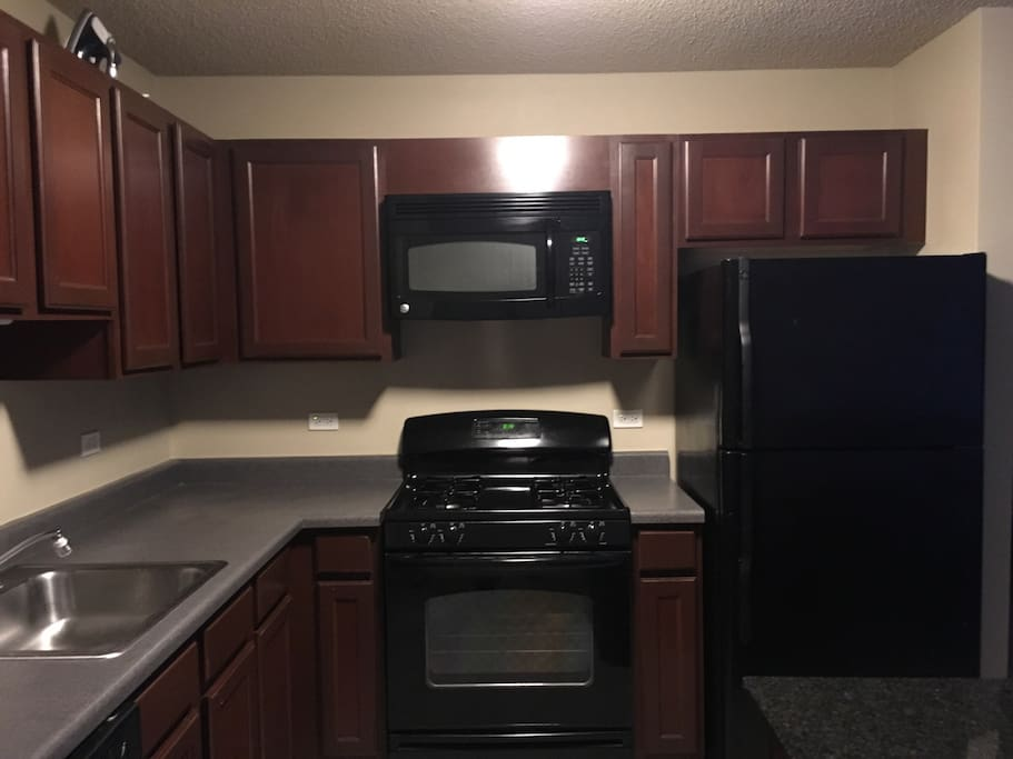 Kitchen with dishwasher