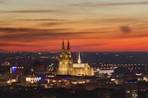Köln aus 100 m Höhe