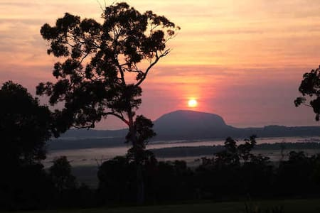 Ninderry Rise Overlooking Coolum  - Maroochy River