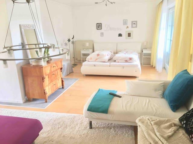 sonniges Apartment Gaensebluemchen Walsdorf