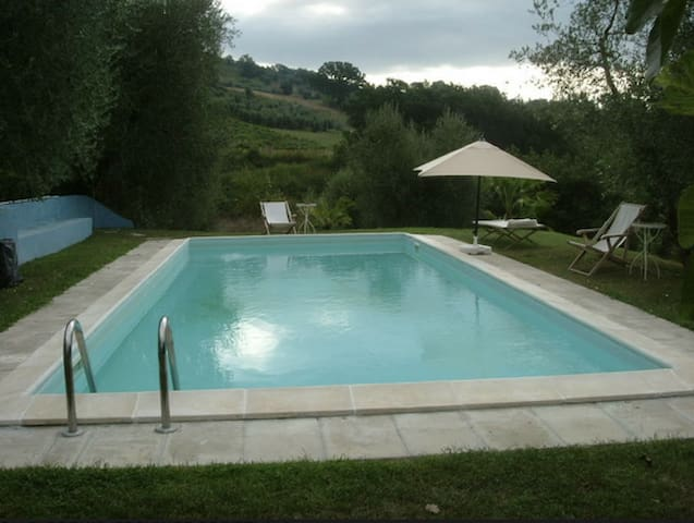Two Studio+Pool in rome countryside - Piane di Collevecchio - Hus