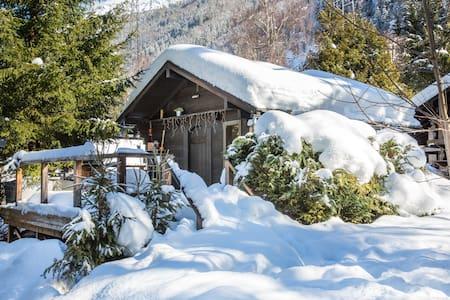 Chamonix cabin nestled in woodland - 夏蒙尼 - 小木屋