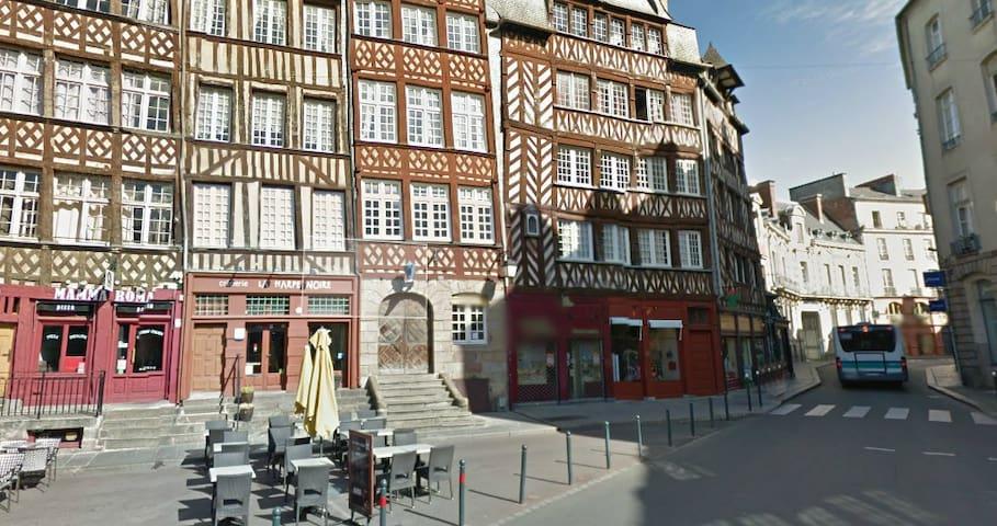 Cozy apartment in historical center - Rennes - Leilighet