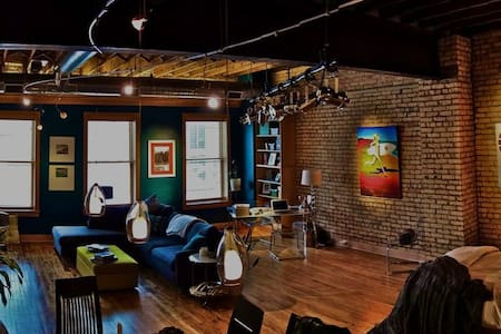 Downtown Studio Loft - Fargo - Apartament