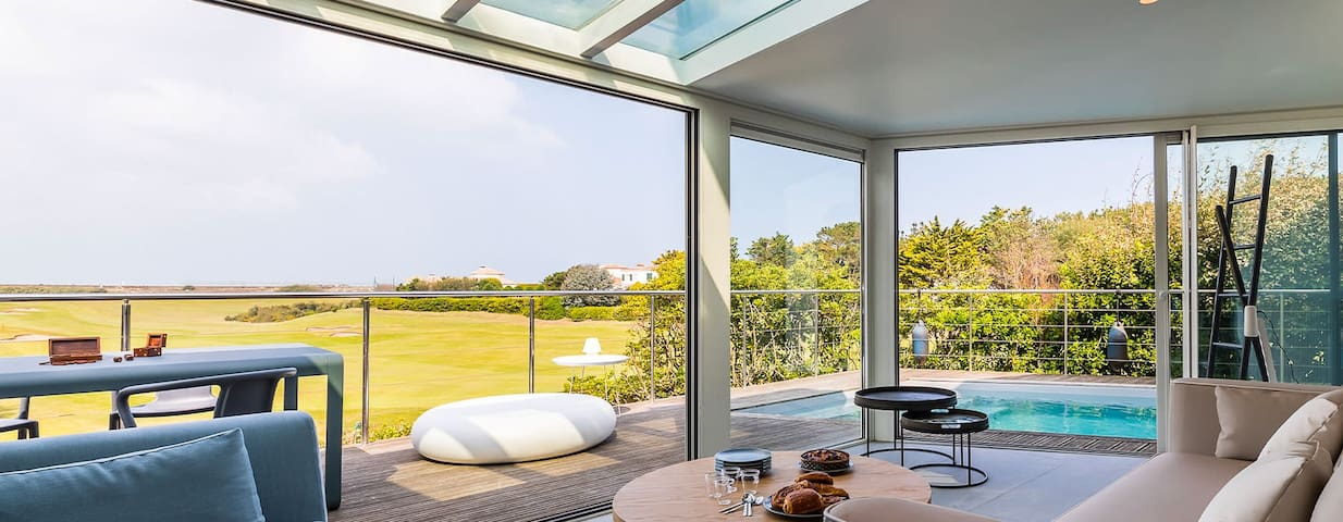 FAIRWAY · KEYWEEK Amazing Holiday House in front of Anglet's Golf course