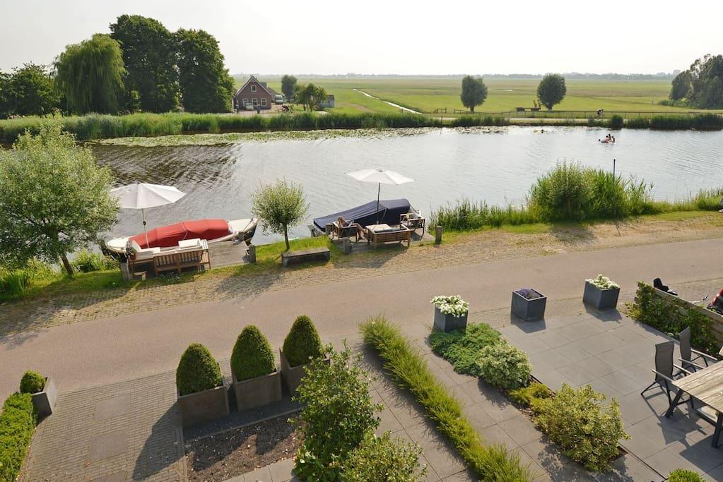 Extraordinary villa near amsterdam case in affitto a for Case affitto amsterdam economici