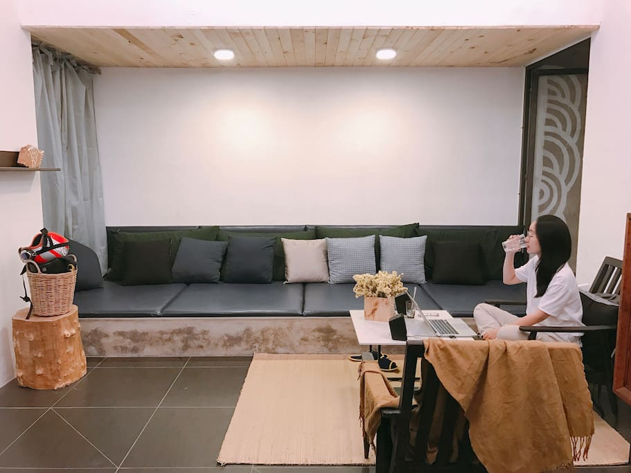 It's a spacious house, with many chill corners for you to relax and spend quality with your friends and family