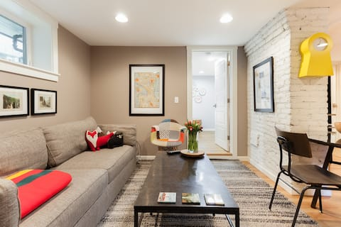 Explore Capitol Hill from a Roomy Apartment