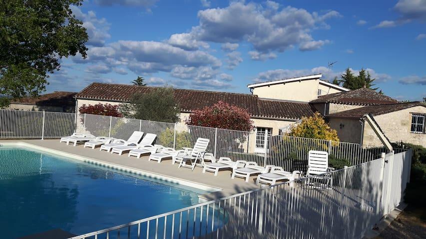 La Bastide Migouterie (Maison XIXème  - 4****) - Saint-Avit-de-Soulège