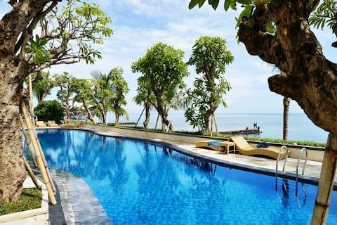Singaraja Double or Twin Room Breakfast @Sea View