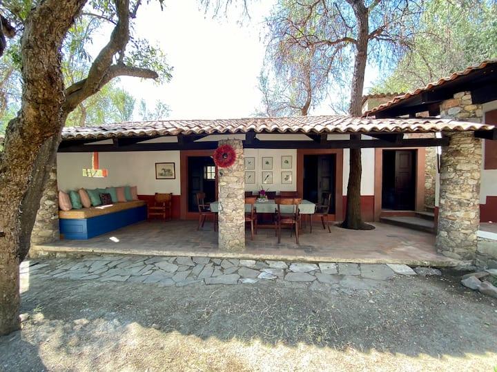 Casa Huizache , dentro de una Reserva Natural.