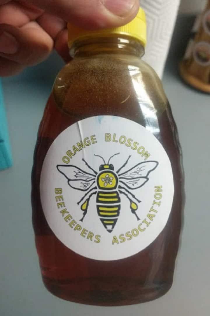 Delicious local honey