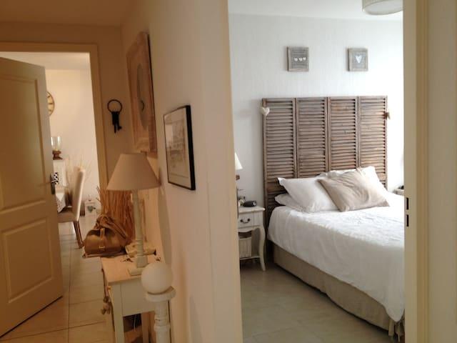 Bel appartement/terrasse pour 5 en centre ville
