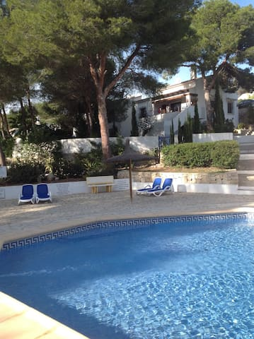 Quiet and relaxing house in Moraira - Moraira - Maison
