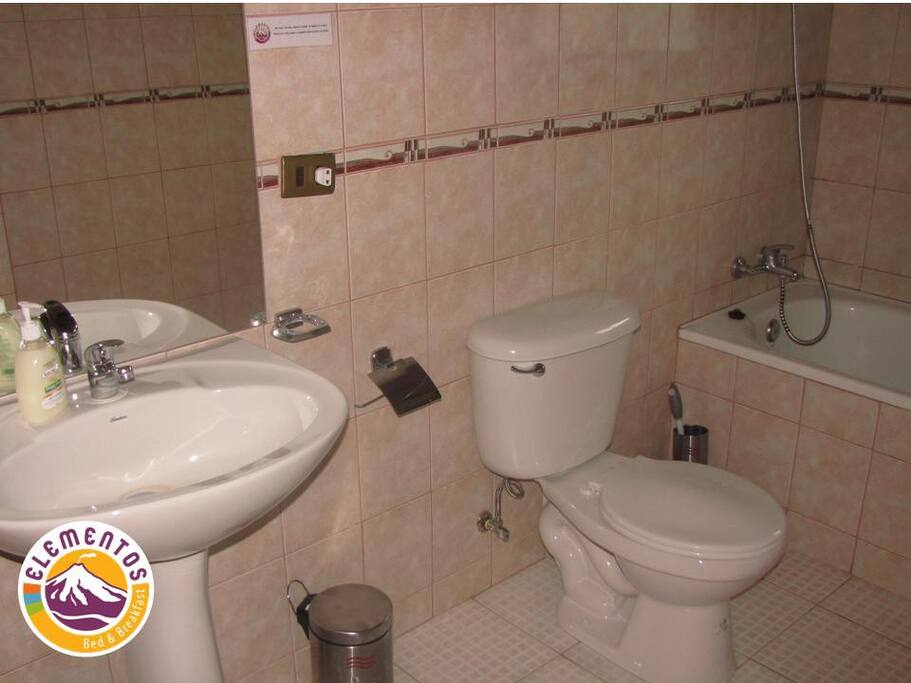 Private Bath en suite