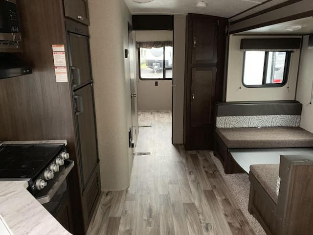 Luxurious RV living