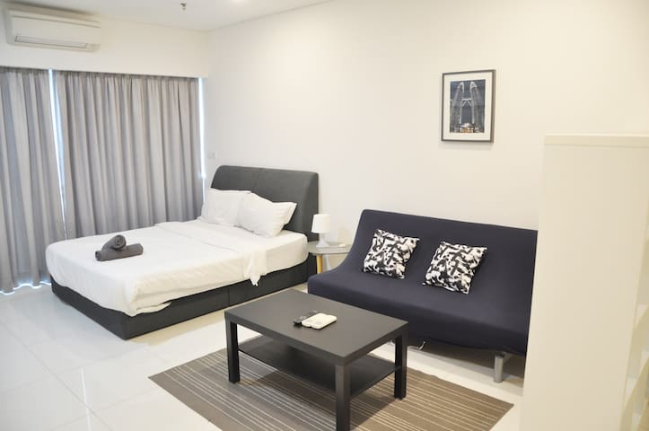 [B04]Cozy&Stylish Studio,12min to KLCC 7min to LRT
