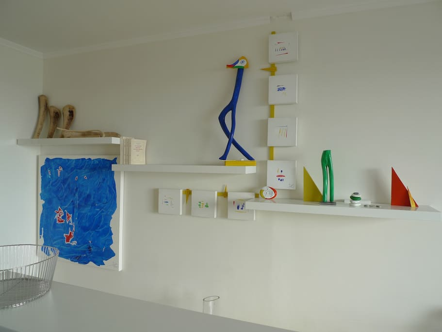 Une décoration design, colorée et arty !