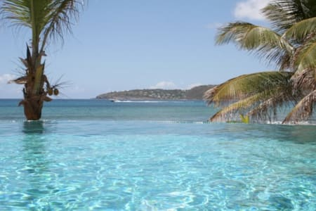 villa on the beach - Saint Barthelemy - Dům