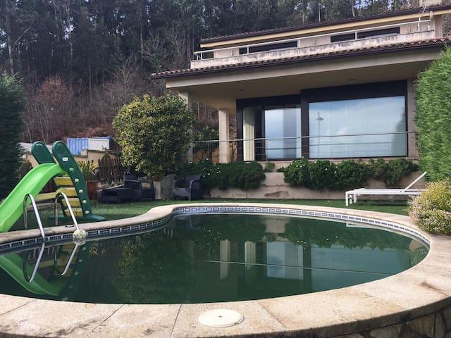 Grande villa con piscina & terrazza