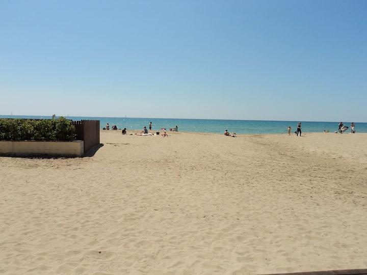 Apartamento entre pinos, a 3 minutos de la playa.