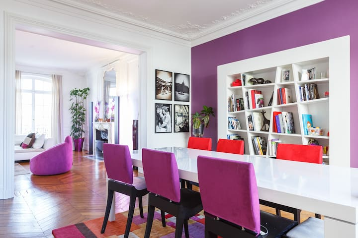 1700 sqft and 3BDs. Great location! - Paris - Apartamento