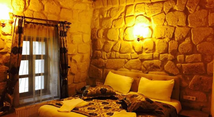 DİAMOND OF CAPPADOCİA HOTEL DOUBLE STONE ROOM