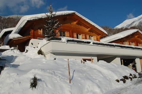 Schweizer chalet Mit Privat Sauna