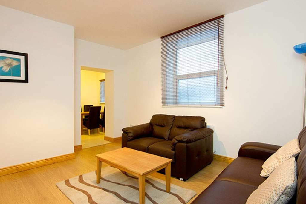 Living Area - there is also a pull down sofa bed that sleeps 2 comfortably