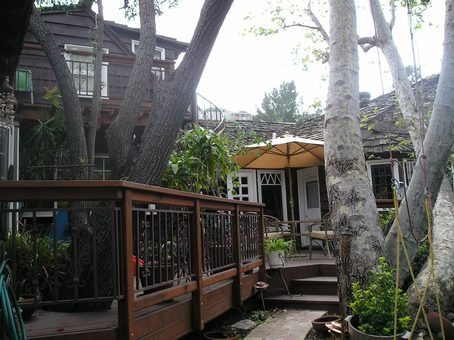 Entryway to Treehouse