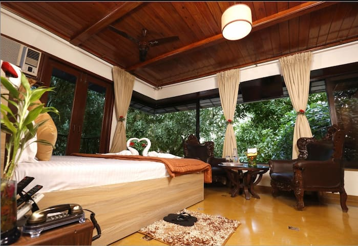 Timber Deluxe room near Bandra kurla complex