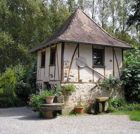 Converted Pigeonnier at Moulin d'Arnac