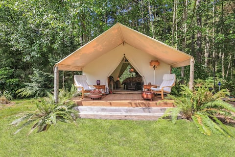 "Private ""Glamping"" Retreat on Whidbey - Sleeps 4"