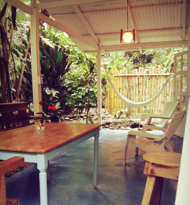 Dining and lounging area